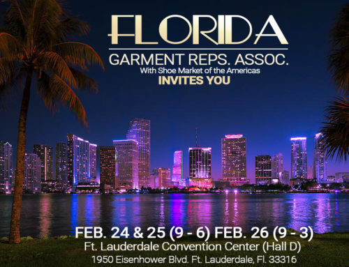 New Show FLORIDA GARMENT REPS.